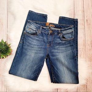 Kut from the Kloth Medium Wash Skinny Jeans